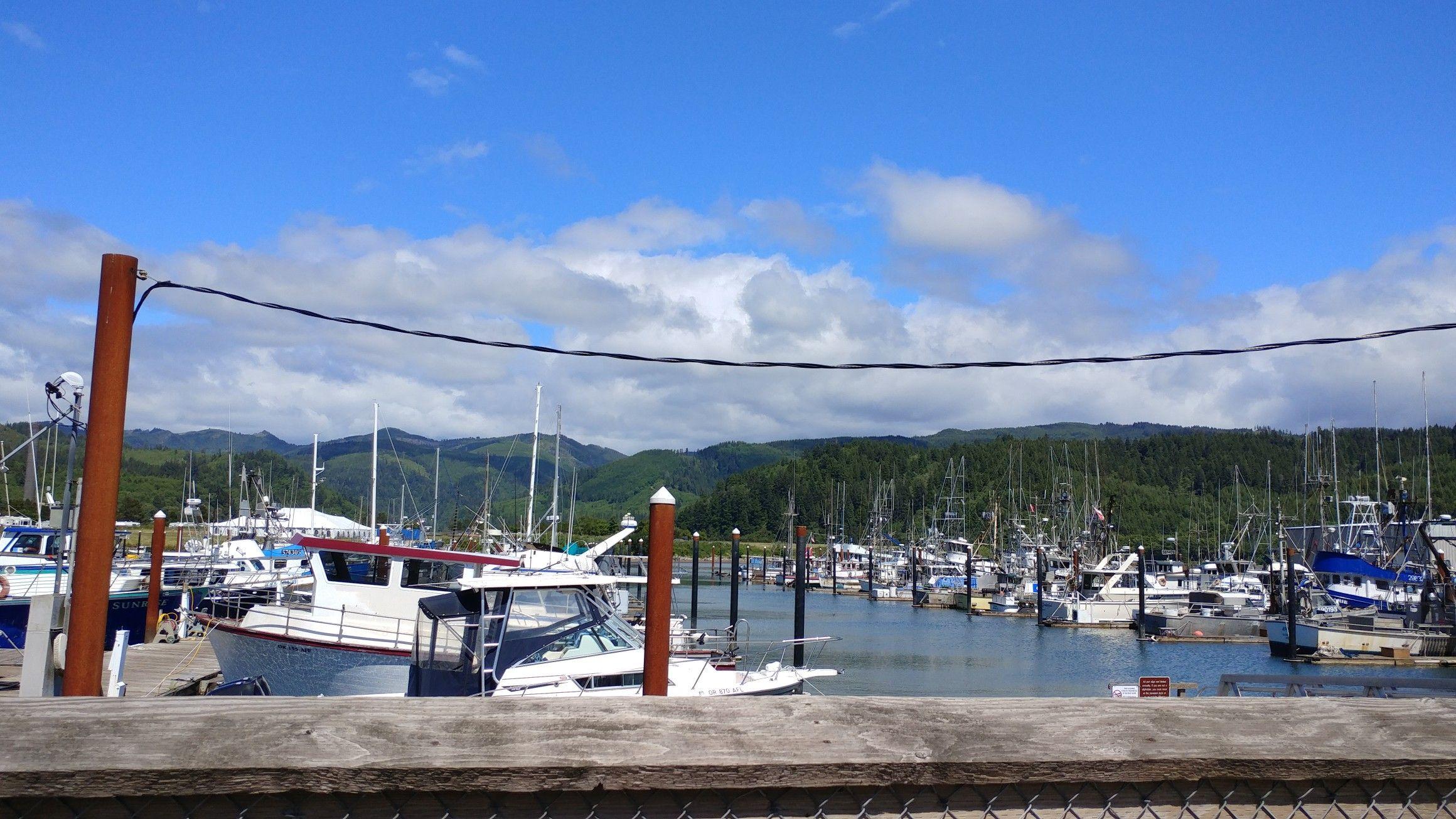 The Port Of Garibaldi Oregon Carlin Rv Odyssey
